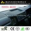Het zwarte Zonnescherm van de Gift van de Navigator van de AntiAuto van de Glans Auto voor Toyota Haice