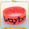 Bracelete personalizado do silicone com esmalte macio