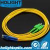 Sca a LC Duplex Singlemode Fibra óptica Patchcord