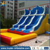 Diapositiva de agua inflable durable popular modificada para requisitos particulares de la fábrica de la buena calidad con la piscina