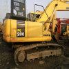 Excavatrices lourdes utilisées PC200-7 de KOMATSU de chenille de KOMATSU