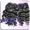 Extensão ondulada grande chinesa do cabelo humano da alta qualidade