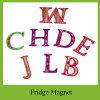 Il magnete del frigorifero di alfabeto di formazione