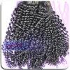 Armure bouclée crépue malaisienne de cheveux de Vierge de vison