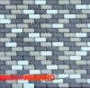Mattonelle di mosaico di vetro bianche della miscela grigia (Ksl124042)