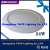 CE/RoHS ApprovalのYaye 24W Round LED Panel Light/Round 24W LED Panel Lights
