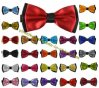 Fashion classique 2ply Satin Mens Bow Tie 25 Colors Collection