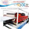 Kurbelgehäuse-Belüftung glasig-glänzender Wellen-Dach Plasic Extruder-Maschinerie-Produktionszweig