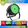 Waterdichte LEIDENE Lichte Trileiden 36PCS*3W RGB Epistar van DJ voor het Openlucht Gebruiken
