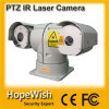 De politiewagen zet de Camera van de Laser PTZ van IRL van de Dag en van de Nacht op