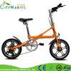 16 Zoll-faltendes Fahrrad-mini bewegliches Pocket Fahrrad mit Shimano Derailleur