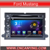 Reprodutor de DVD do carro para o reprodutor de DVD de Pure Android 4.4 Car com A9 o processador central Capacitive Touch Screen GPS Bluetooth para o mustang de Ford (AD-7302)