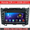 ホンダのCrV (2006-2011年)のためのA9 CPUを搭載するPure Android 4.4 Car DVD Playerのための車DVD Player Capacitive Touch Screen GPS Bluetooth (AD-7680)