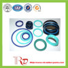 Anel-O do silicone e anéis coloridos da faixa de borracha