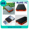 높은 Quality 2 USB Waterproof Power 은행 또는 Solar Charger