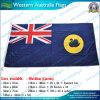 Austrália Ocidental Flag de 90X180cm 160GSM Spun Polyester (NF05F09038)
