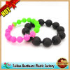Neues Silicone Bead Bracelet Wristband mit SGS Certification (TH-6983)
