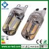 Beaucoup de lumière d'ampoules de PCS SMD 3014 G9 DEL de l'éclat 64