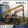 Traktor-bewegliche Pole-Aufrichtung-Maschine mit Kran