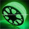 5050 SMD Waterproof 220V Green Color LED Flexible Strip Light