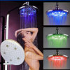 8 Inches Water Power Color Change LED Light Shower