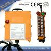 À télécommande sans fil par radio industriel portatif de F21-14D pour la grue et la grue