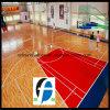 Il campo da pallacanestro dell'interno della Cina mette in mostra la pavimentazione