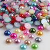 Оптовая продажа перлы плоской задней части пластичная половинная круглая