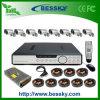 옥외 방수 처리하십시오 8 사진기 DVR 장비 도난 방지 시스템 (BE-9608H8CD)를