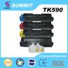 Cartucho de toner compatible del color de la impresora laser de la cumbre para Tk590