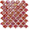 Umbrella-Type Red Mosaic Tile Colored Interior Wall Paneling