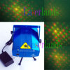 Roter 650nm 80MW Green 532nm 30MW Laser Star Projector DJ Show