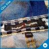 Vestuário das etiquetas/camisa/sapatas/etiqueta tecidos personalizados dos sacos