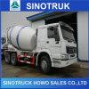 Carro del mezclador de cemento de Sinotruk 6X4