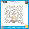 Decoração Home cerâmica clássica do suporte de vela da decoração da parede da beleza