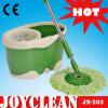 Joyclean poignée Spin Mop avec matériel d'acier inoxydable (JN-203)