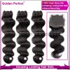 Дешевое 5A Virgin 100% Human Natural Wave Best Peruvian Hair (GP-BR-BD)