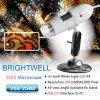 J500x 디지털 방식으로 현미경 붙박이 백색 Ledx4 (BW788)
