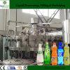 El relleno del agua de soda combinó con la máquina de rellenar suave