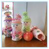 Novos sacos de pano de maçã do boneco de neve de Natal Saco de presente do saco de doces