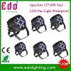 6PCS/Lots Free Shipping 12*10W RGBW LED Light PAR DMX512 Lighting Projector DJ Stage 4 in 1 PAR Light