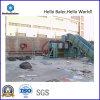 Semi-Auto Hydraulische het Vastbinden van het Papierafval Machine (has7-10)