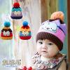 온난한 아기 모자