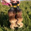 Cheveux humains brésiliens normaux non transformés de Remy Ombre de Vierge