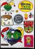 Pflanzenschönes Stickerei-Großhandelsabzeichen