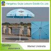 Parapluie de plage droit durable en acier en gros de jardin de Foldding
