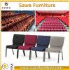Mobília barata do hotel do preço do frame moderno do ferro que empilha a cadeira da igreja
