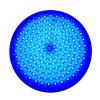 Iluminação subaquática enchida resina da piscina subaquática do diodo emissor de luz do RGB
