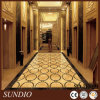 Entwurfs-gelbe Farben-Porzellan-Fliese-keramische Bodenbelag-Fliese/hölzerne Blick-Fußboden-Fliese anpassen