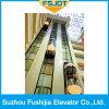 機械Roomlessが付いているObaervationの商業構築のパノラマ式のエレベーター